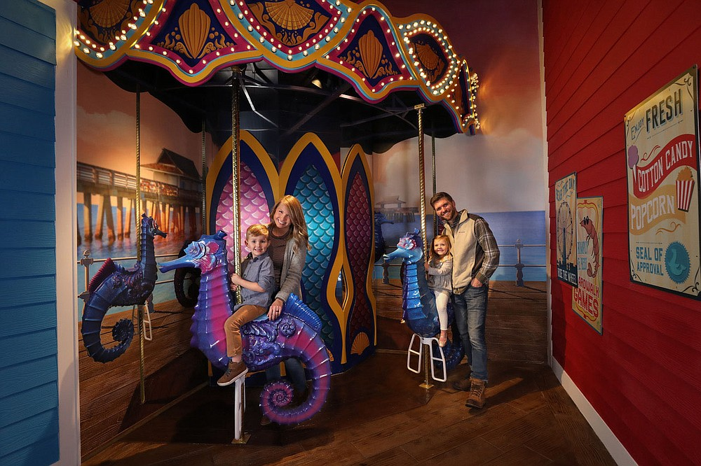 Branson's brand-new Aquarium at the Boardwalk is intended for kids of all ages. (Courtesy Photo)
