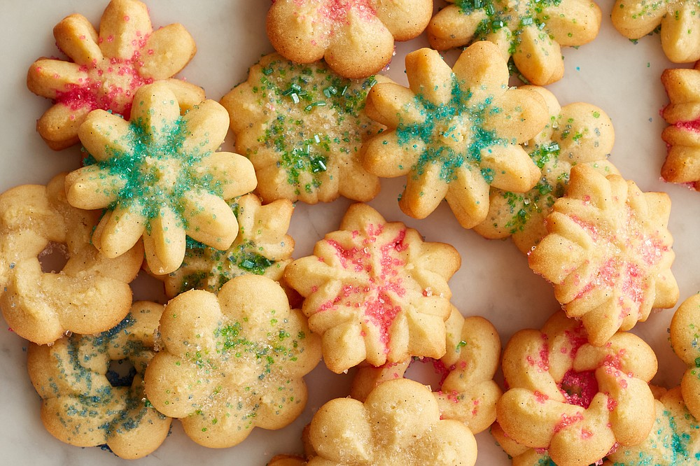 Vanilla Bean Spritz Cookies (The New York Times/Johnny Miller)