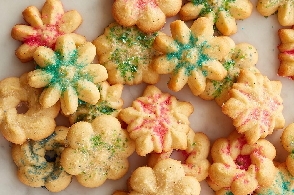 Vanilla Bean Spritz Cookies (The New York Times/Johnny Miller)