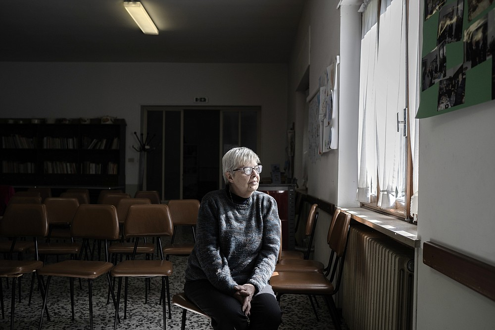 Erika Tomassona, a Waldensian church official, in Villar Perosa, Italy. Members of Waldensian communities throughout the country have been working to help refugees through Humanitarian Corridors, in a program now being emulated in France, Belgium and Andorra. (The New York Times/Alessandro Grassani)