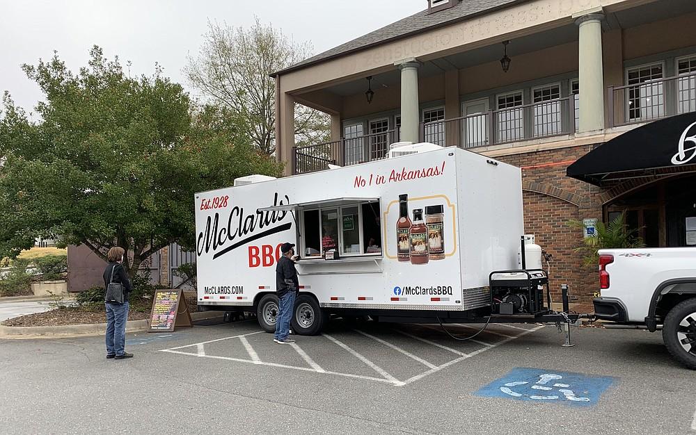 Hot Springs' McClard's Bar-B-Q changed hands in June; a Little Rock-based food truck debuted in November. (Democrat-Gazette file photo/Eric E. Harrison)