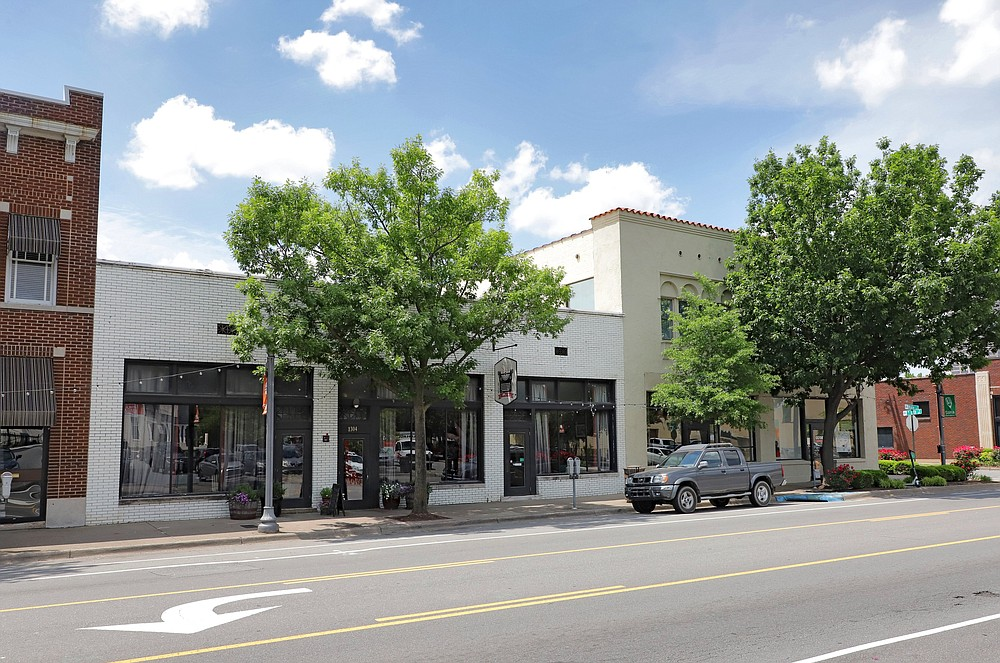 South on Main changed hands in February. Chef Matt Bell and wife Amy moved to Nashville and sold the SoMa restaurant to Don Dugan and his wife, Tasha Stratton. (Democrat-Gazette file photo)