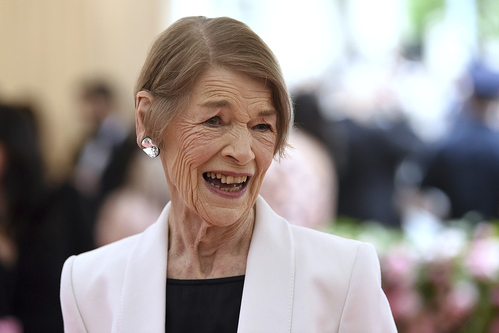 """FILE - In this May 6, 2019 file photo, Glenda Jackson attends The Metropolitan Museum of Art's Costume Institute benefit gala celebrating the opening of the """"Camp: Notes on Fashion"""" exhibition on in New York.   Only one project lured the two-time Academy Award winner  back to the screen after an absence of 25 years: """"Elizabeth Is Missing."""" The BBC film is a mystery but so much more — a powerful and moving look at dementia. Jackson plays a woman lost in the fog between the past and present. (Photo by Evan Agostini/Invision/AP, File)"""
