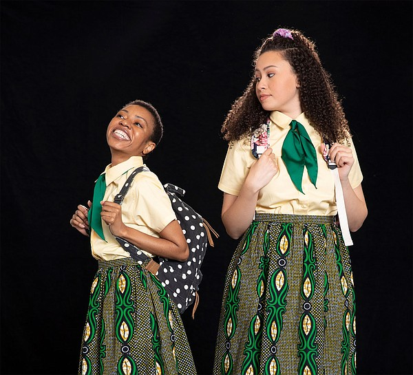 www.nwaonline.com: Wrapped In Laughter: T2's 'School Girls' considers color, beauty and self