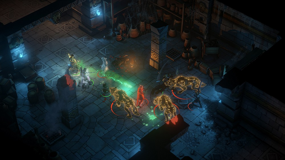 """""""Pathfinder: Kingmaker"""" is a role-playing video game in which players build a team of up to six adventurers to carve a kingdom from a wilderness. (Owlcat Games/Deep Silver)"""