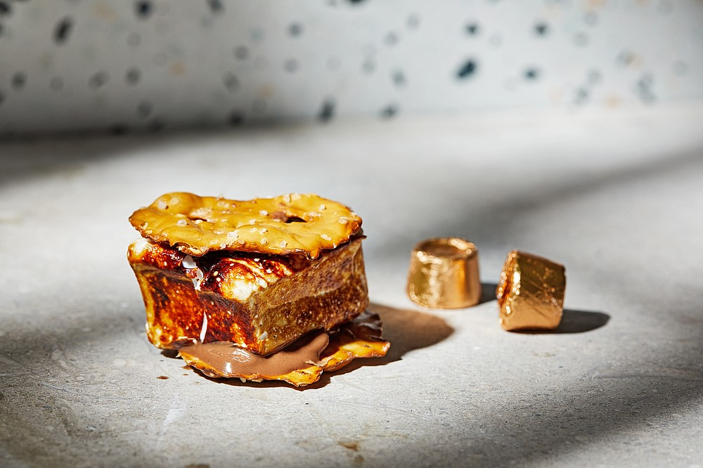 Salted Caramel S'mores (For The Washington Post/Tom McCorkle)