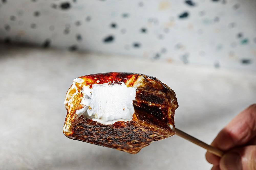 A toasted Vanilla Marshmallow (For The Washington Post/Tom McCorkle)