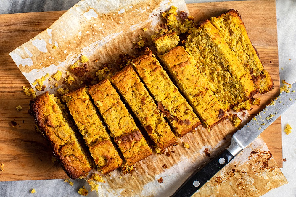 Red Lentil Loaf (The New York Times/Andrew Scrivani)