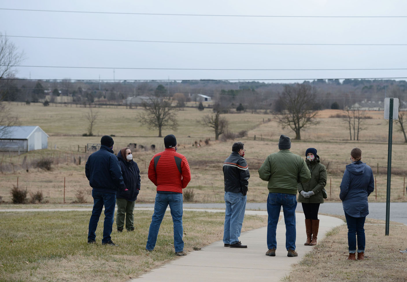 Fayetteville council tours land up for development near Zion, Crossover roads