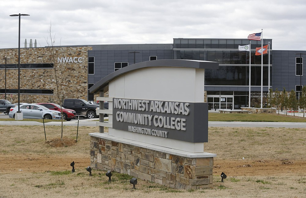 The Northwest Arkansas Community College Washington County Thursday, January 14, 2021, located near Arvest Ballpark in Springdale. Check out nwaonline.com/210117Daily/ and nwadg.com/photos for a photo gallery. (NWA Democrat-Gazette/David Gottschalk)