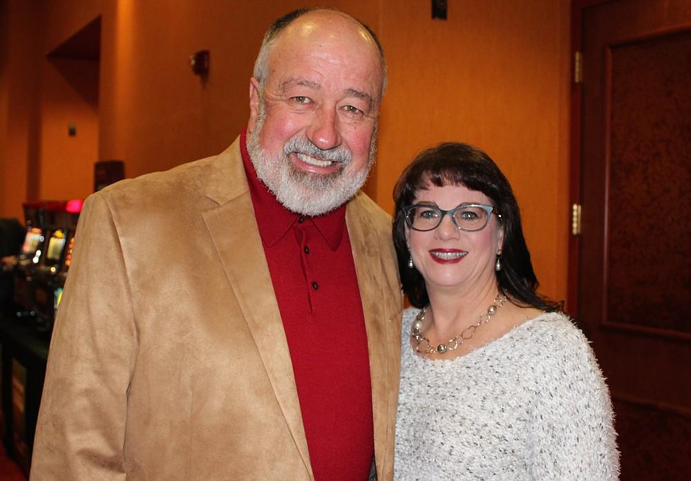 NWA Democrat-Gazette/CARIN SCHOPPMEYER Mike and Lea(cq) Necessary help attend All In 2018.