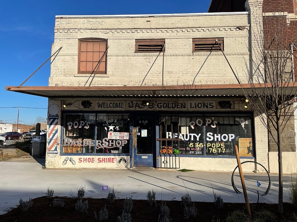 Pop's Barber and Beauty Shop has quickly become a cornerstone to downtown Pine Bluff. (Special to The Commercial/The Generator)