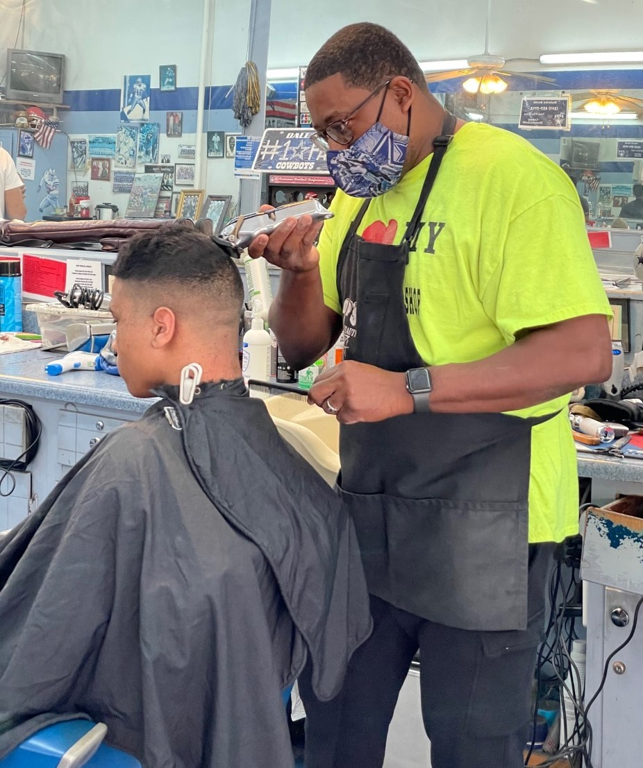 Pop's Barber and Beauty owner says hard work is key in business