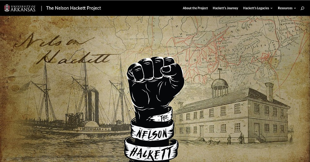 The Nelson Hackett Project, based at the University of Arkansas, has resurrected the story of one enslaved resident of Fayetteville who fled to Canada in 1841. Read more at nelsonhackettproject.uark.edu.  (Courtesy Image)