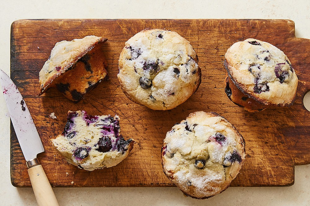 Small-Batch Blueberry Muffins (The New York Times/Julia Gartland)