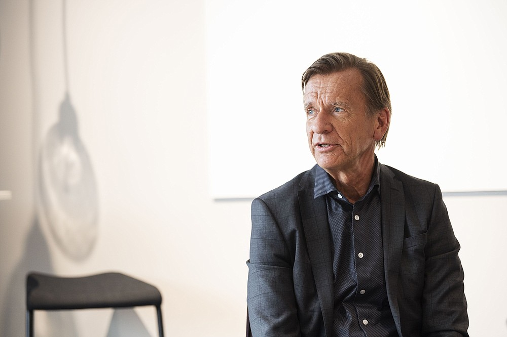 Volvo CEO Hakan Samuelsson, photographed in 2020 in Gothenburg, Sweden. MUST CREDIT: Bloomberg photo by Mikael Sjoberg