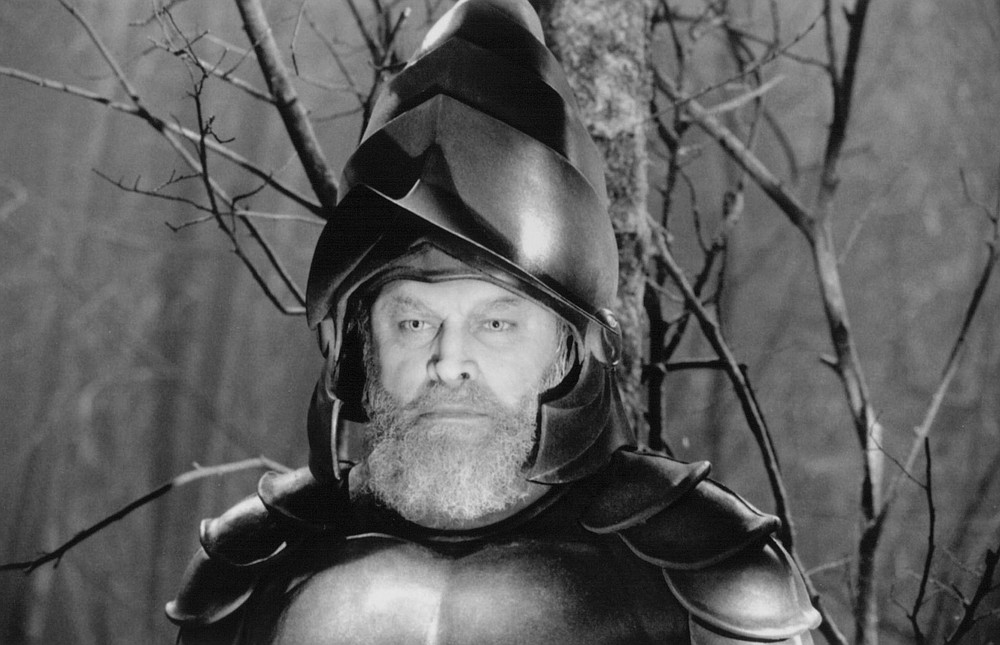 """Brian Blessed plays the Ghost of Hamlet's father in Kenneth Branagh's 1996 movie version of """"Hamlet."""""""