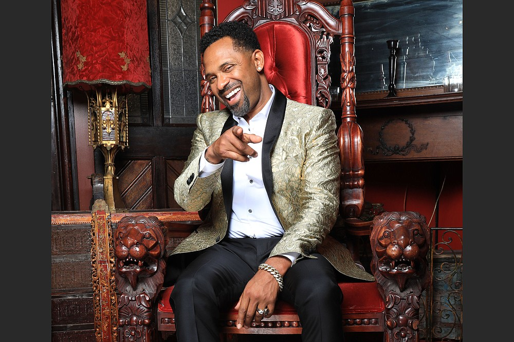 """Actor and comedian Mike Epps brings his """"In Real Life""""cq EH comedy tour to North Little Rock's Simmons Bank Arena June 4. (Special to the Democrat-Gazette)"""
