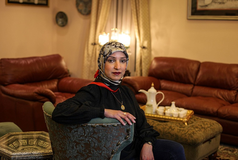 Dr. Uzma Syed, an infectious disease physician, in Jericho, N.Y., Feb. 27, 2021. Dr. Syed cited a narration about the Prophet Muhammad in urging Muslims to be vaccinated. (Laylah Amatullah Barrayn/The New York Times)