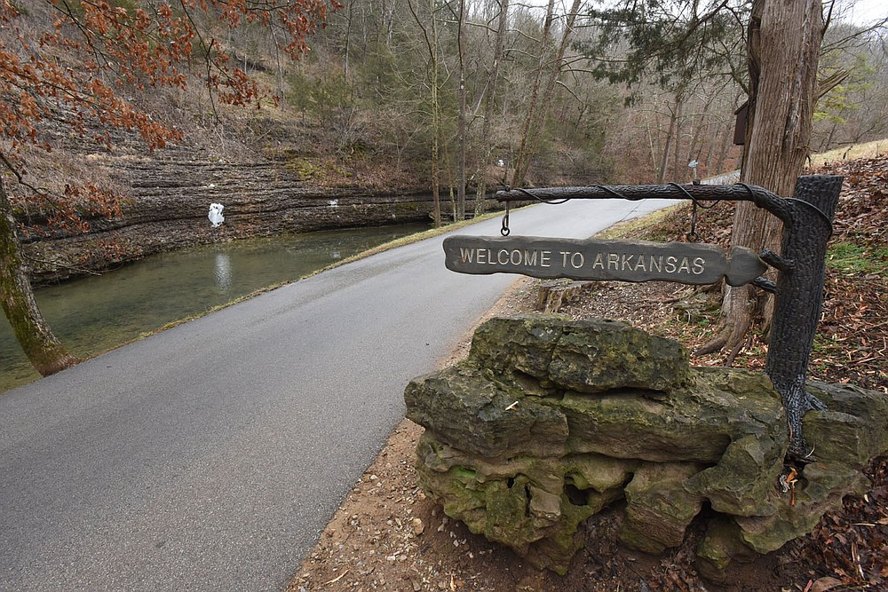 The 10,000-acre park is situated in both Missouri and Arkansas. (NWA Democrat-Gazette/Flip Putthoff)
