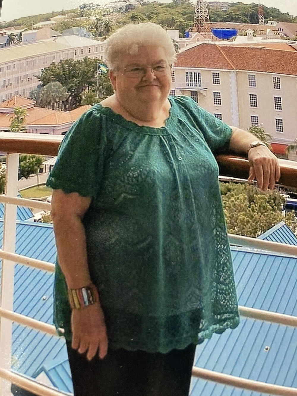 Debbie Staton's mother, Charlotte Munson, shown here in a 2013 photograph, died of covid in December. (Special to the Commercial)