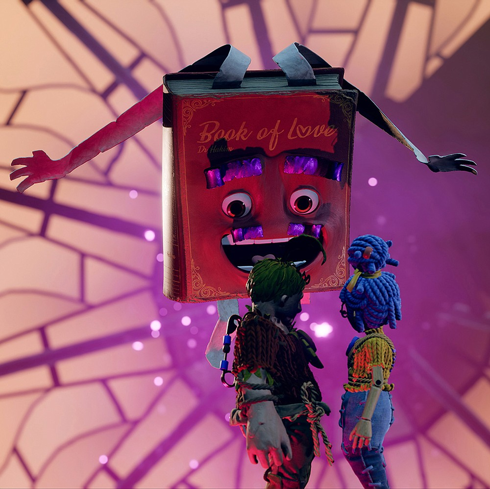 """The weird Book of Love is a problem in """"It Takes Two"""" is a video game that grapples with serious themes about relationships, including divorce. (TNS/Electronic Arts)"""