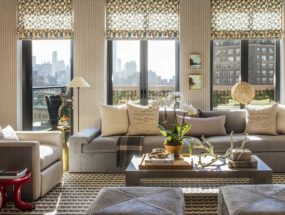 Designer Thom Filicia's says the new year is a chance to create spaces that let you live your most beautiful life. (Nick Johnson/PV Public Relations via AP)