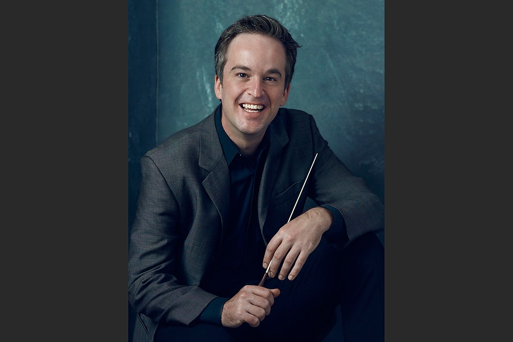 Geoffrey Robson, the Arkansas Symphony's interim artistic director, has put together the programming for the orchestra's 2021-22 season and will be on the podium for a Masterworks concert pair in April 2022. (Special to the Democrat-Gazette)