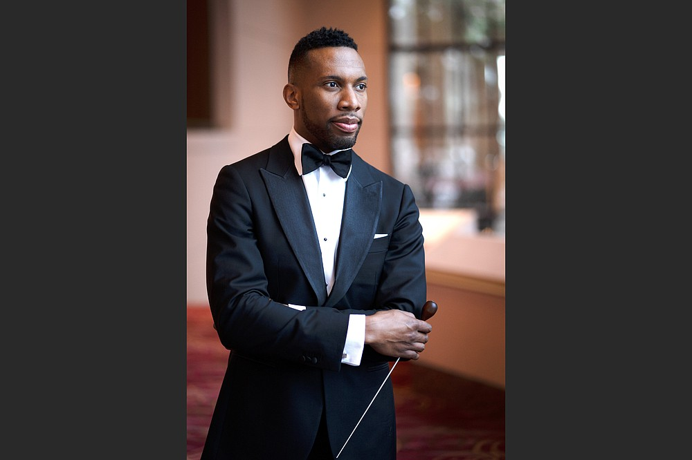 """Roderick Cox, former associate conductor of the Minnesota Orchestra, will be the guest conductor for the orchestra's annual """"Beethoven & Blue Jeans"""" concerts in November. (Special to the Democrat-Gazette/Lawrence Brownlee)"""