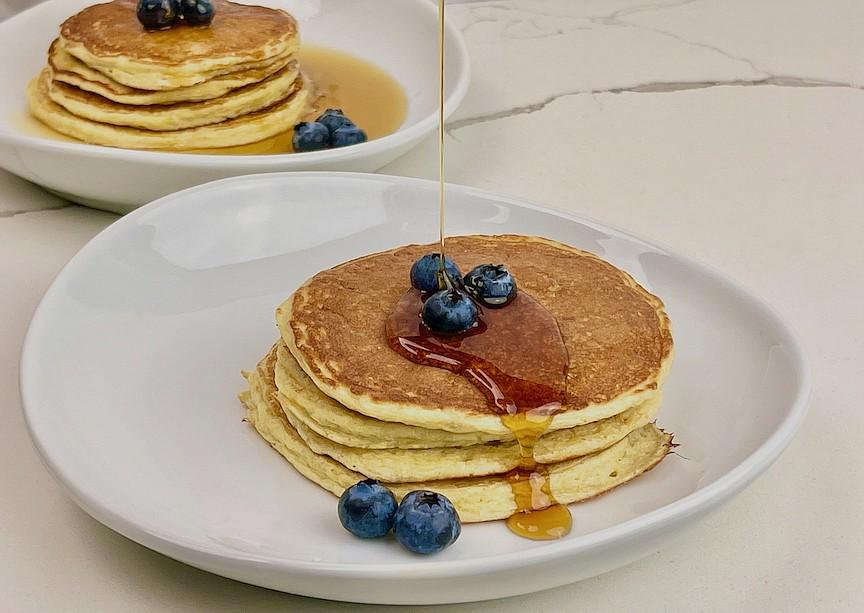 Cottage Cheese Pancakes (Arkansas Democrat-Gazette/Kelly Brant)