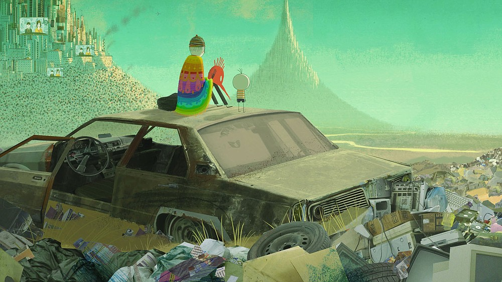 """Brazilian artist Alê Abreu's Academy Award-nominated nonverbal masterpiece, """"Boy and the World,"""" is a riotous explosion of music and color that depicts the wonders and struggles of the modern world through the eyes of a young boy. It is screening as part of the Artosphere Film Series at 7 p.m. May 15.  (Courtesy Image)"""