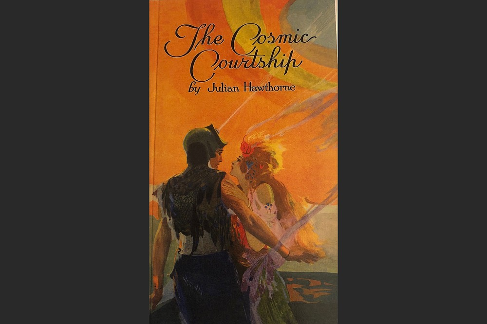 """Artist Fred W. Small's original cover art from All-Story Weekly appears on the new paperback version of """"The Cosmic Courtship."""" (Special to the Democrat-Gazette/Cirsova Publishing)"""