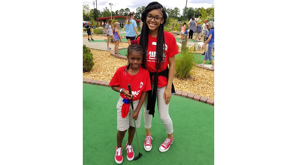 North Little Rock's 2019 SAPling (Summer Activity Program) camps included some miniature golf. (Courtesy of North Little Rock Parks and Recreation)