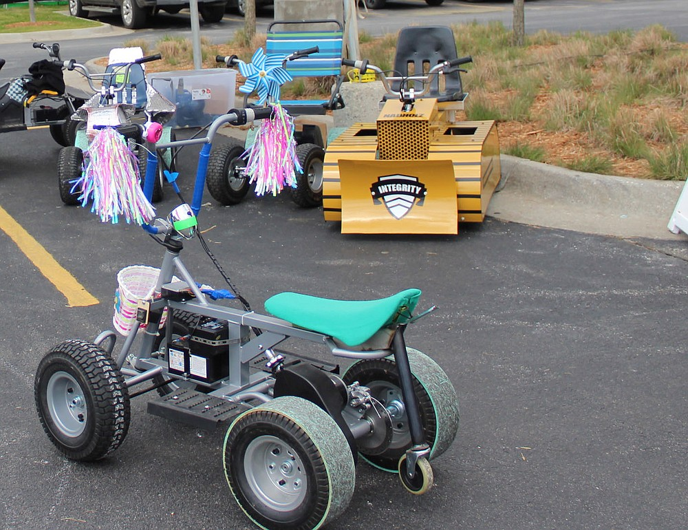 24-volt vehicles to compete in the Zing Cup race Amazeum UnGala (NWA Democrat-Gazette/Carin Schoppmeyer)