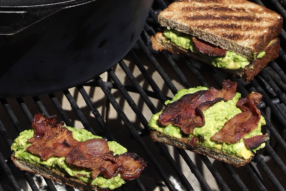 Grilled Bacon and Avocado Toast (TNS/St. Louis Post-Dispatch/Hillary Levin)