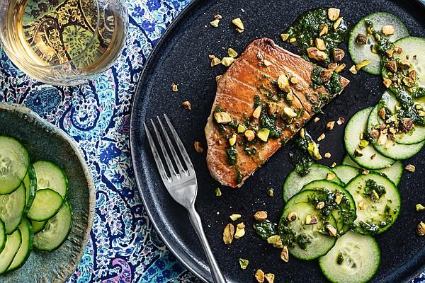 COOKING FOR TWO: A fresh, textured tuna dish in under 20 minutes - Northwest Arkansas Democrat-Gazette