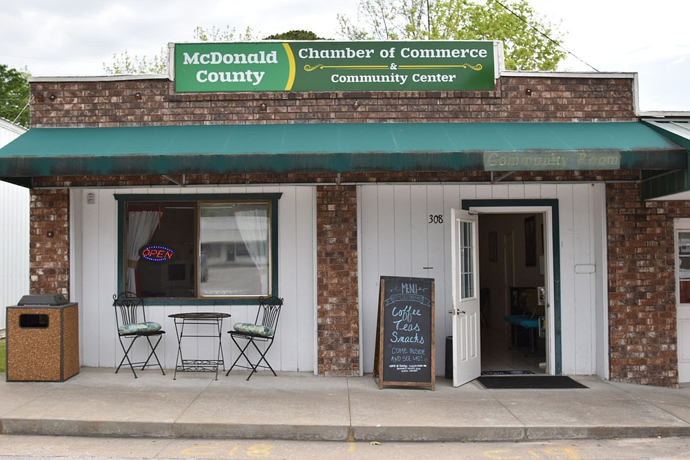 PHOTO BY ALEXUS UNDERWOOD/SPECIAL TO MCDONALD COUNTY PRESS. Commerce Coffee Shop is open 8-2 Monday through Friday. Commerce Coffee Shop has remained open, after slowdowns due to covid-19, since January 2021.