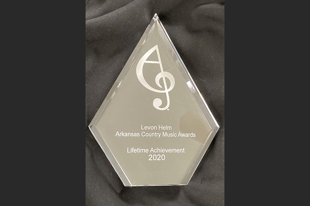 The late Levon Helm was among the 2020 Lifetime Achievement Award recipients who will be honored during this year's event. (Special to the Democrat-Gazette/ Arkansas Country Music Awards)