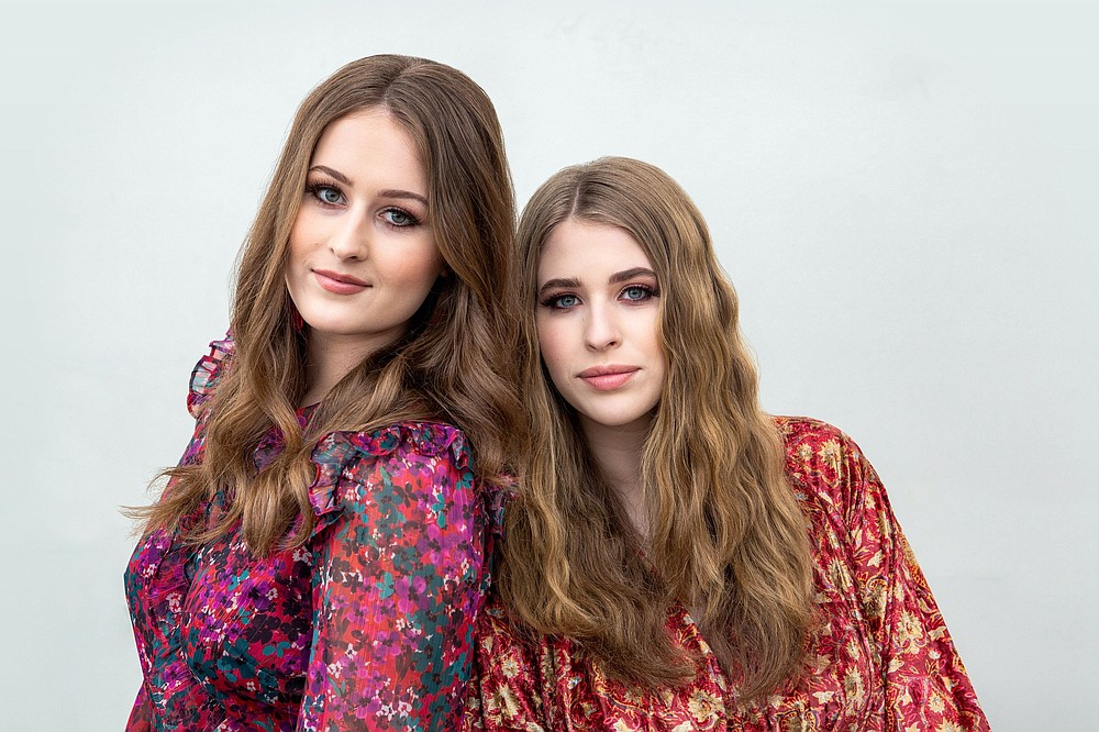 """The Render Sisters, Mary-Keaton and Stella, are nominated for two Arkansas Country Music Awards — Young Artist of the Year and Video of the Year for """"Lost Boy,"""" directed by Joe Sikkema and Pam Tillis. (Special to the Democrat-Gazette/Chad Crawford)"""