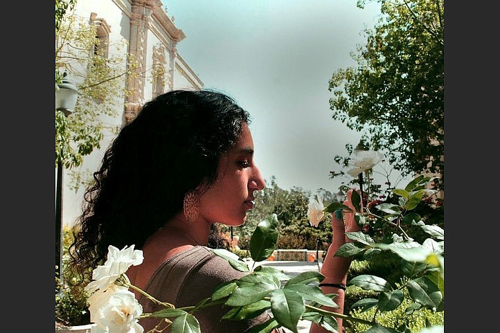 Maya Salameh is the 2022 recipient of the University of Arkansas Press' Etel Adnan Poetry Prize. (Special to the Democrat-Gazette)