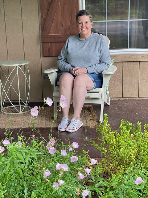 Photo submitted Michelle (shown above) and her husband Jeremy are originally from Iowa but have lived in Bella Vista for 20 years.