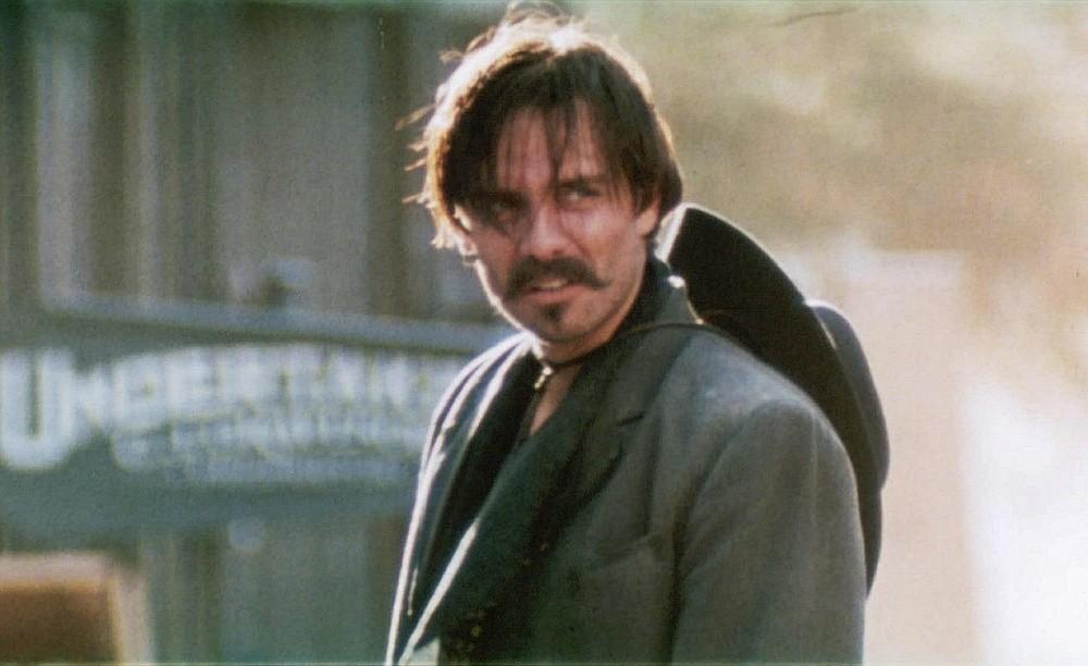 "Michael Biehn plays Johnny Ringo in 1993's ""Tombstone."""