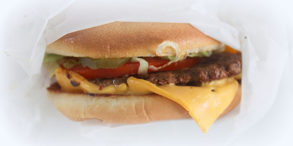 The secret to the Susie Q burger is mustard grilled into the bun. You'll like it, manager Sheila Edmondson promises, even if you don't like mustard.  (Special to NWADG/Kat Robinson)