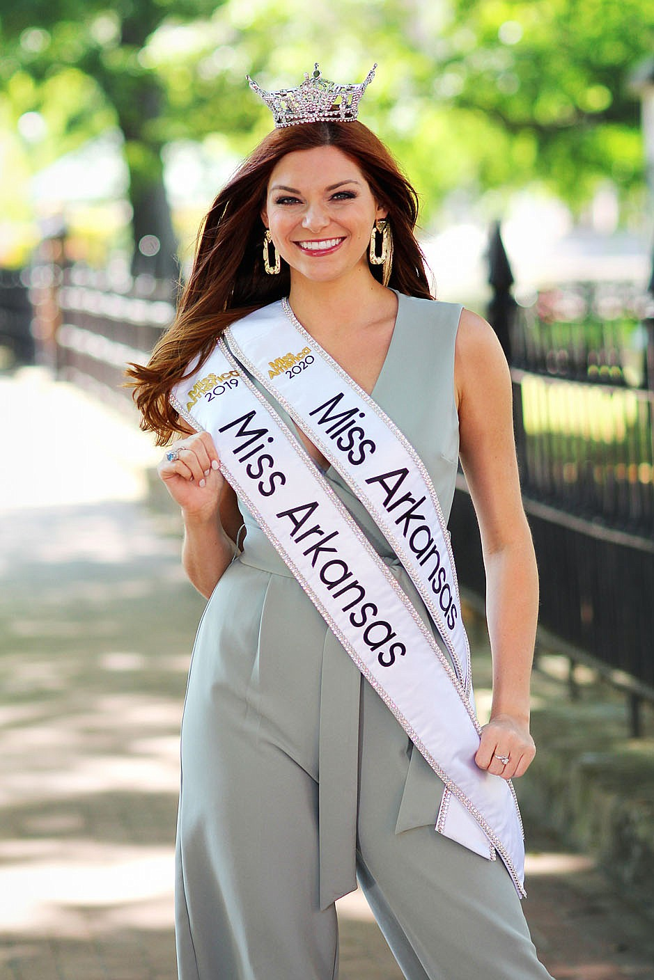 Darynne Dahlem, who grew up in Greenwood and attended the University of Arkansas in Fayetteville, is the first woman to ever serve two terms as Miss Arkansas. Because her reign was extended by the pandemic, she was also in medical school full time during the last half of it.  (Courtesy Photo/West Wind Photography)