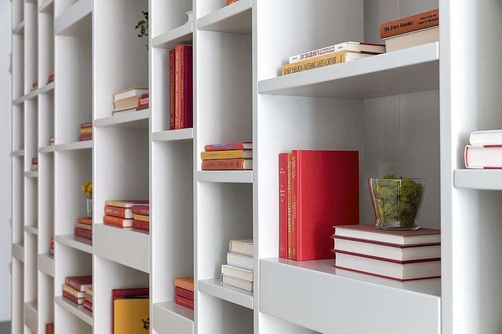 Decorative books serve as inexpensive accessories. (TNS Handout)