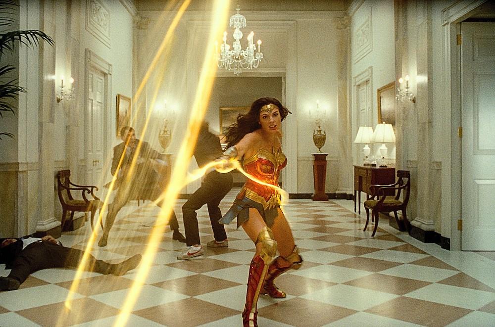 """""""Wonder Woman 1984"""" comienza con las películas en el parque de River Market, los miércoles de julio en el anfiteatro de Riverfront Park.  (Warner Bros. a través de AP)"""