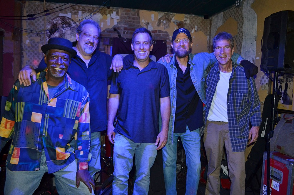 Jess Hoggard and his electric Blues band, Jess and the Mess, are Saturday's headlining act for the return of the Fordyce on the Cotton Belt Festival. (Special to The Commercial/Richard Ledbetter)