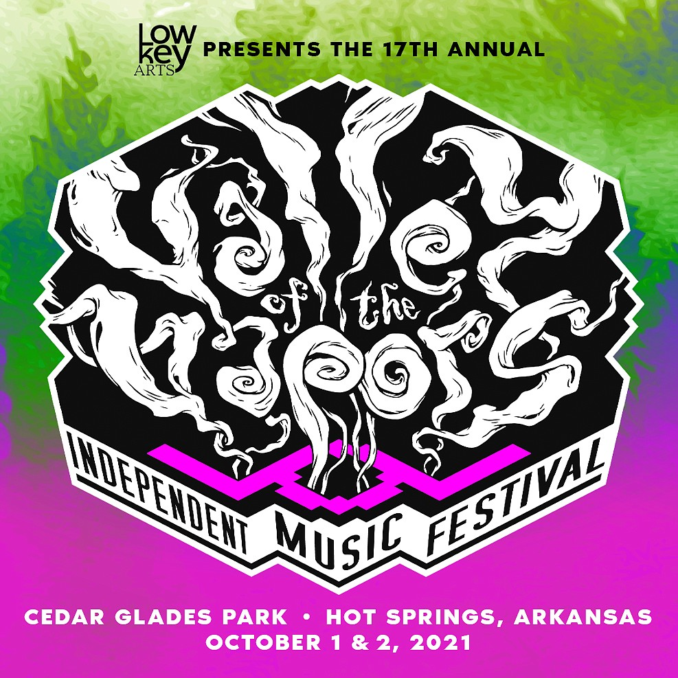 Artwork for the Valley of the Vapors Independent Music Festival was released Friday. - Submitted photo