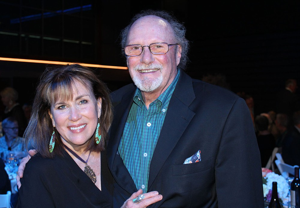 Margaret and Dick Rutherford help support TheatreSquared.  (NWA Democrat-Gazette/Carin Schoppmeyer)