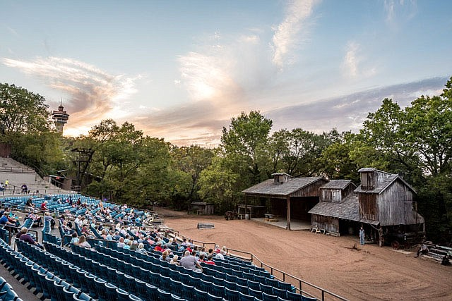 The saga of the Shepherd of the Hills attraction in Branson begins even before the outdoor retelling of Harold Bell Wright's novel was first staged in 1960.  (Courtesy Photo/Shepherd of the Hills)